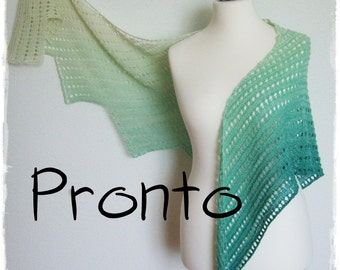 Pronto* knitting shawl pattern