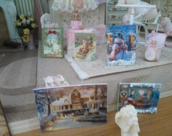 Great signs for Christmas for the 1:12 Dollhouse