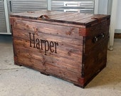 Large Child's Wood Chest