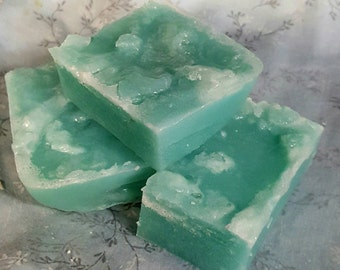 Sea Salt Scrub Soap 4oz bar
