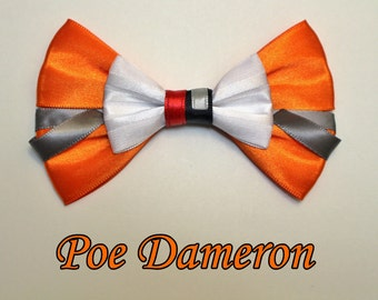 Star Wars Poe Dameron Hair Bow