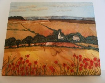 Yorkshire Wolds Textile Art