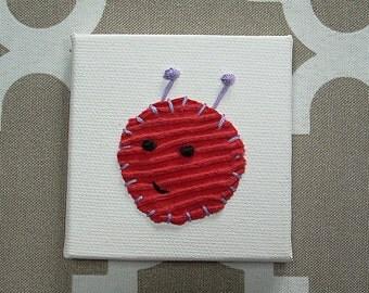 Bug Head #1 Fabric Wall Art