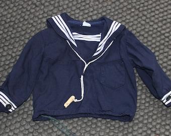 R. Gee 9, 12 month sailor shirt/ nautical top