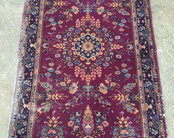 """3'4""""x5'6"""" Antique Persian Rug"""