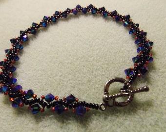 Custom Handmade Beaded Bracelet