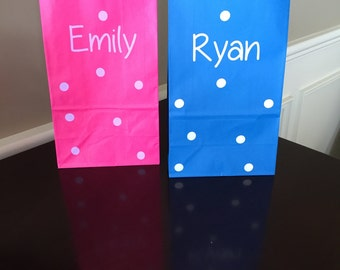 Kids Birthday, Kids Birthday Party, Birthday Party Gift Bag, Kids Gift Bag, Birthday Party