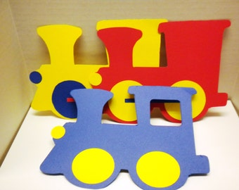 Die Cut Choo! Choo! Trains-Trains, Choo Train, Die Cut Trains, Die Cuts-DCT-45