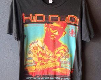 Kid Cudi grey concert shirt   Kid Cudi shirt Size Medium