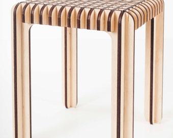 wood tabouret / wood stool / wood seat / wood chair / DIY wood stool / DIY wood tabouret / DIY wood chair / diy kit