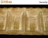 ON SALE 222 Fifth NARCISSUS Relish 4 Part Section Serving Dish Pts International Excellent Condition