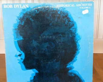Bob Dylan, Historical Archives Vol. 2. Record # GI LP2 Live Recording Of Dylan Playing At The Finjan Club in Montreal In 1962.  Clean Copy