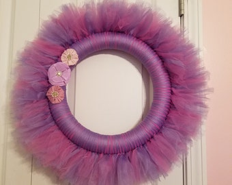 Items Similar To Dallas Cowboys Tulle Wreath Or Other Nfl