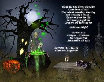 Halloween Invitations, Halloween Party, Halloween