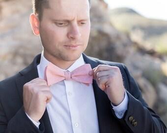 Bow Tie, Salmon Men's Bow Tie