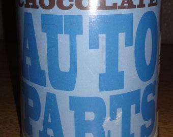 Vintage Chocolate Tin/ Bank