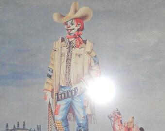 "Vintage John Morris Print/ Titled "" Mr Texas"""