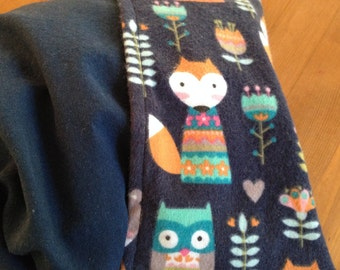 Owl Fox Corn Cozi Bag Heating Pad with Removable Cover