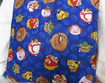 """Angry Birds Star Wars Cushion Cover 16 x 16"""""""