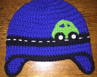 Crochet car hat