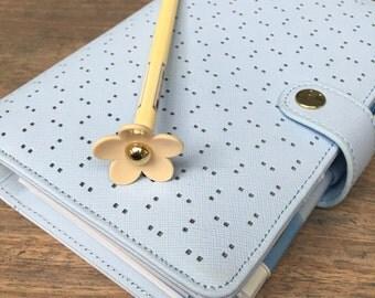 Little Daisy Ballpoint Pen, blue ink (A01)