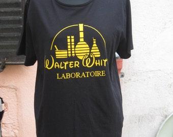 walter white disney geek bag breaking black unisex t-shirt