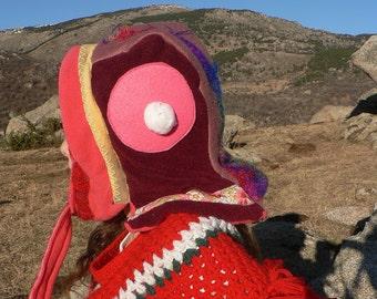 felt, wool and fleece Hat