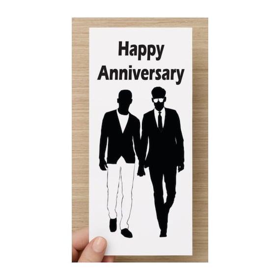 carte d'anniversaire gay Image vectorielle #46231091