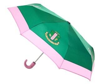 Alpha Kappa Alpha Crest Mini Umbrella