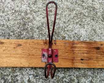 Coat Rack with re-claimed timber