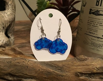 Cloudy Day Shrink Earrings