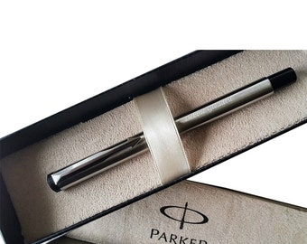 Personalised Engraved Parker Roller ball Pen Stainless Steel