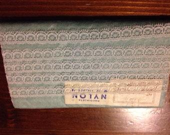 vintage nylon lace Rhodiatoce