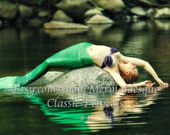 The Classic Mermaid prints 4x6 and larger
