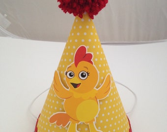 The Chica Show Party Hat, The Chica Show Birthday Hat