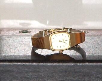 Pre-Owned Women's Pulsar Gold Tone Y580 -5279 Dress Quartz Watch