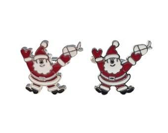Santa Claus Cuff Links