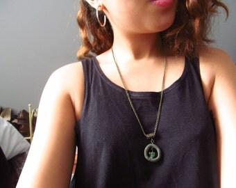 Captured Forest Necklace