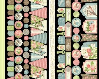 CLEARANCE SALE!  Graphic 45 Botanical Tea Accessories Kit #2