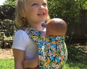 Baby Doll Carrier - Mai Tai Style Carrier - Toddler Carrier - Toy Carrier