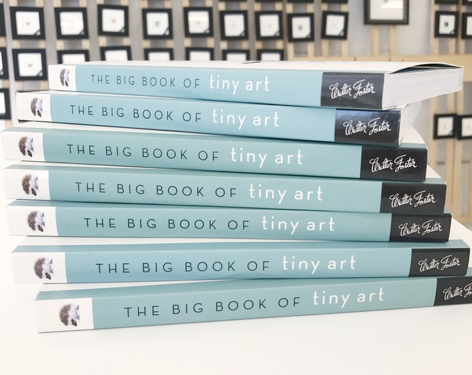 The Big Book of Tiny art how to draw miniatures step by step SIGNED