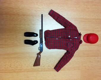 Ken Hunting Outfit 1963 Mattel Mix 'N Match Fashion Pak