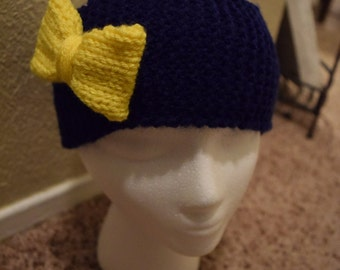 Knit Headband with Bow