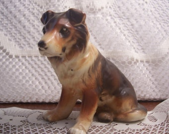 German Shepard Figurine, Japan