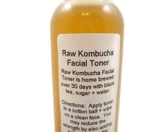 Kombucha Facial Toner, probiotic toner, kombucha, fermented facial toner, facial toner, probiotic cleanser, scoby, kombucha vinegar, toner