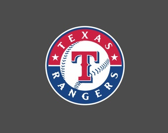 Full New Texas Rangers - Die Cut Decal/Sticker
