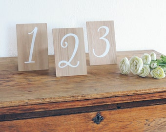 Wedding Table Numbers, Rustic Wooden Wedding Signs, Wooden Table Numbers, Wedding Decor. Boho Wedding.