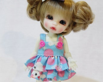 Dress With Bow For Lati Yellow / Pukifee Outfit #L011