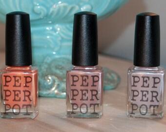 Nail Polish Gift Set Itty Bitty Kitty Committee Gift Set Pepper Pot Polish Gift Under 30 Gift For Her