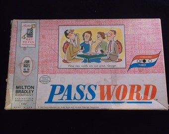 PASSWORD - MILTON BRADLEY / Volume 3 / Vintage 1963